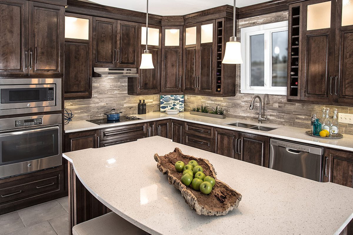 Kitchens - Custom Cabinets: Exceptionally crafted spaces.