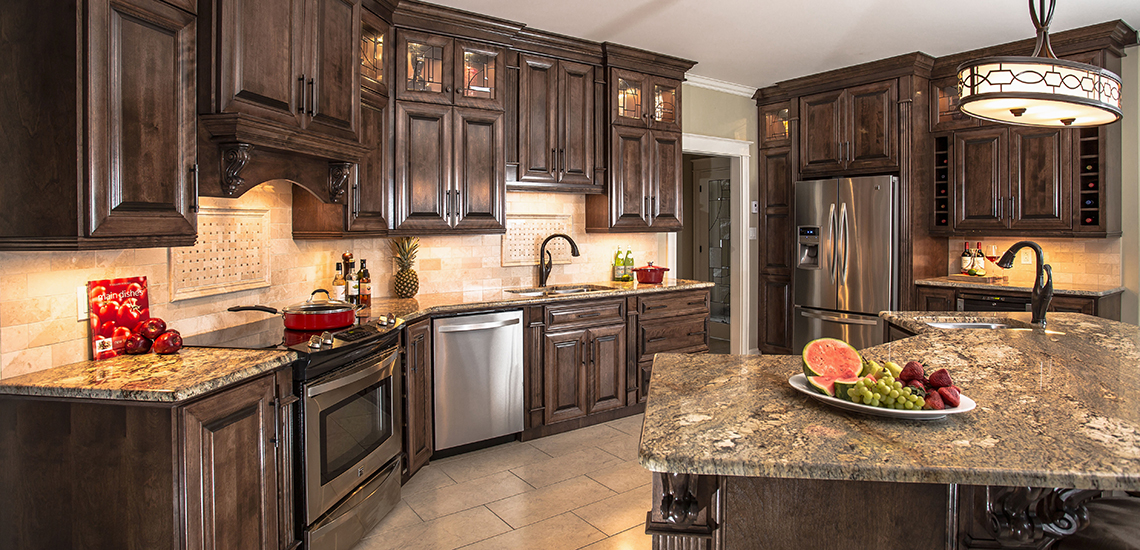 Home custom cabinets exceptionally crafted spaces for Custom kitchen remodeling